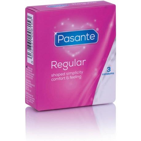 Preservativos Pasante Regular 3 uds.