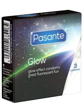 Preservativos Pasante Glow 3 uds.