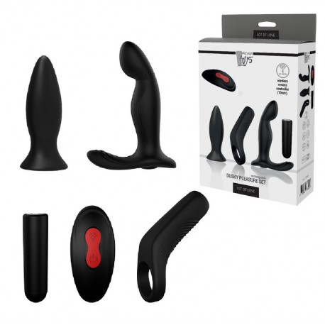Kit 5 piezas Control Remoto DUSKY PLEASURE
