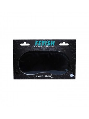 Antifaz LOVE MASK-negro