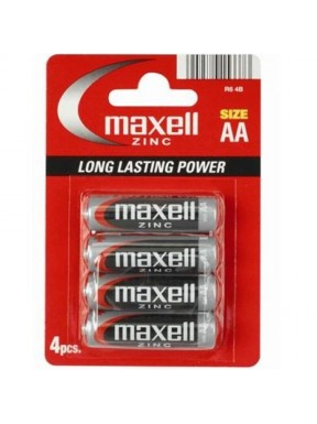 Pilas AA Maxel 4 uds.