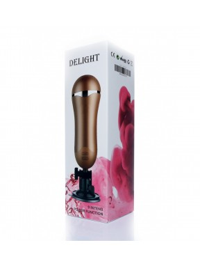 Masturbador Vagina Vibrador Delight The Boss