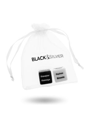 Juego de Dados BLACK&SILVER