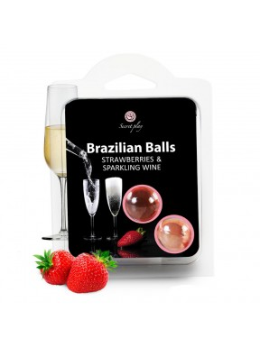 Set de 2 Brazilian Balls Fresa y Cava