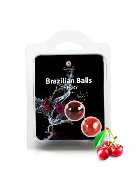 Set de 2 Brazilian Balls Cereza