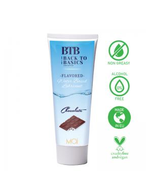 Lubricante base de agua Chocolate BTB-1