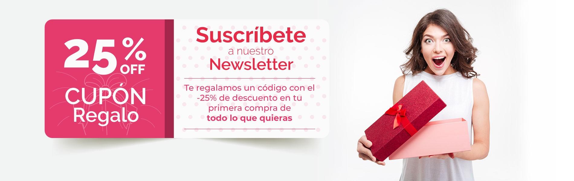 Promo Suscripción Newsletter